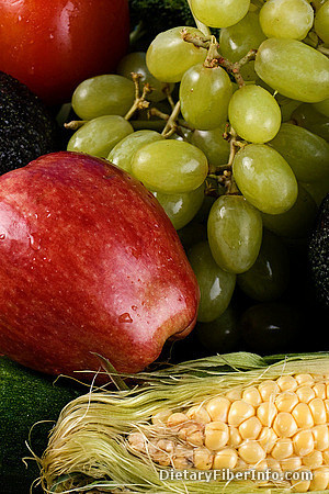 Fruit and sweet corn: sources of fiber